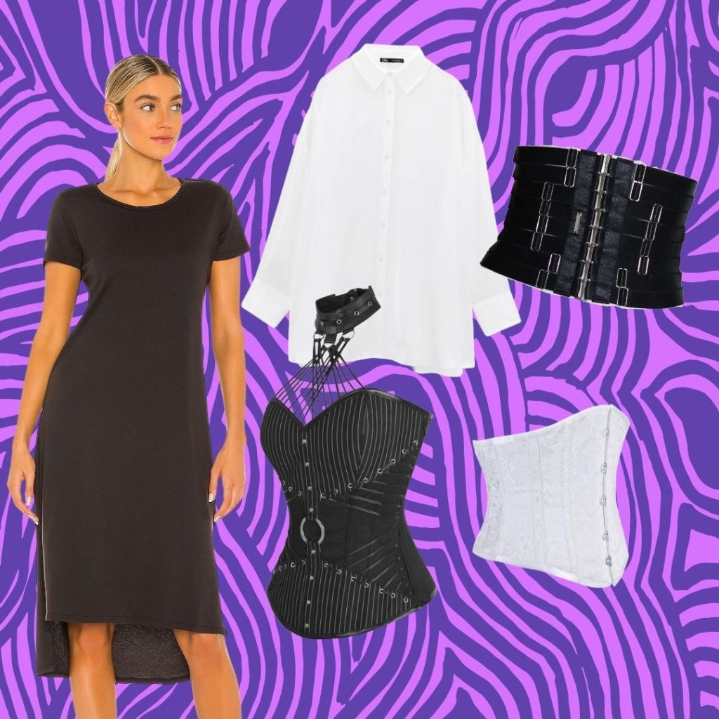 belt cinchers and corsets for goth wardrobe