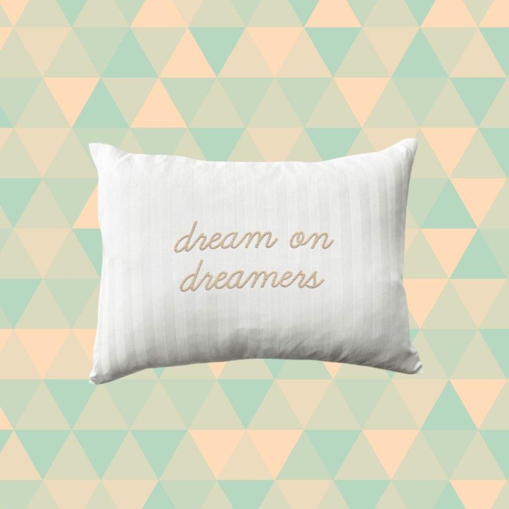 customized mini pillow from KIP.