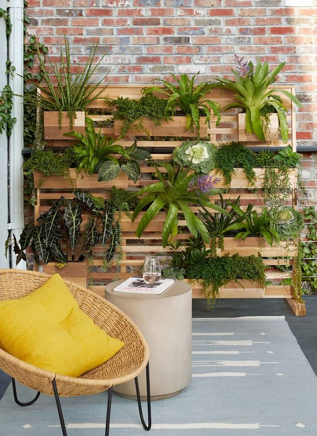 vertical garden for balcony