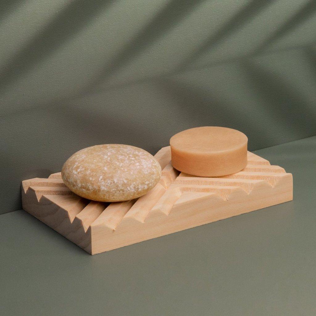 shampoo and conditioner bars from Good Juju