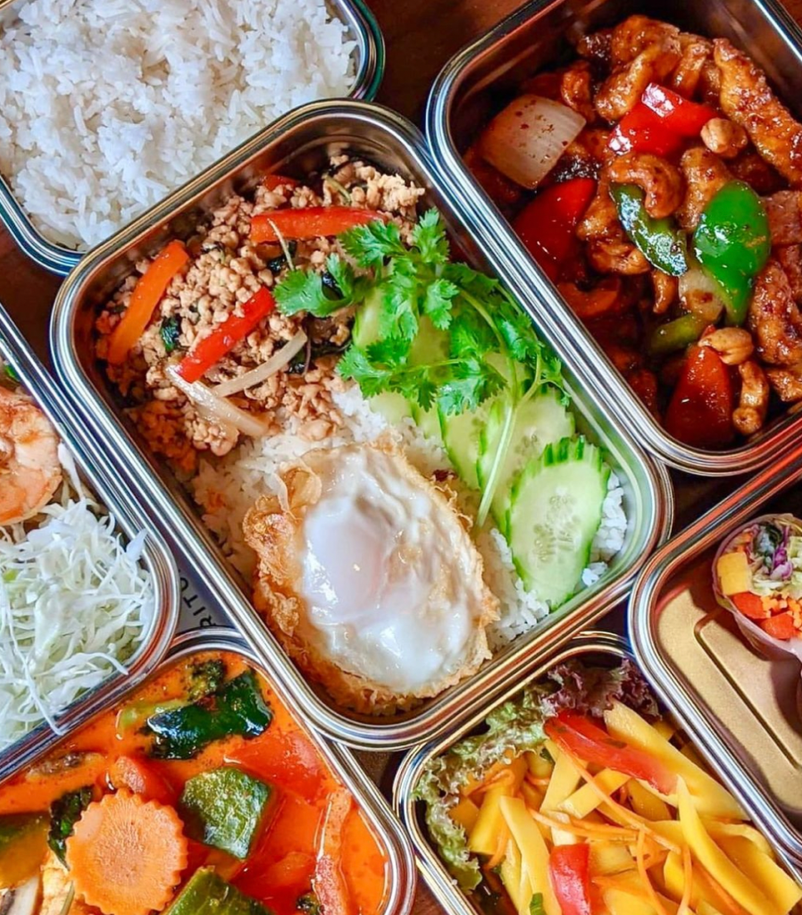 reusable takeout containers from Suppli