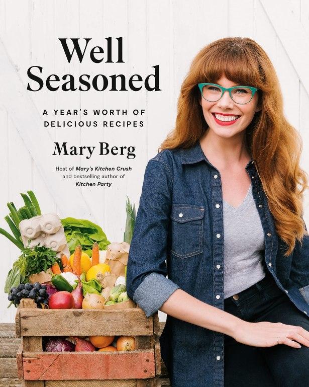 mary berg well seasoned cookbook as thanksgiving gift for host