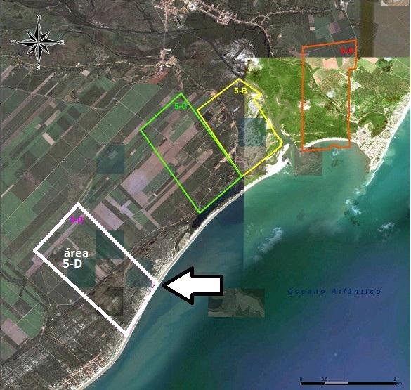 Área 5D, entre Barreiras e Miaí de Cima, recebe parecer favorável do Ibama para implantação do estaleiro Eisa