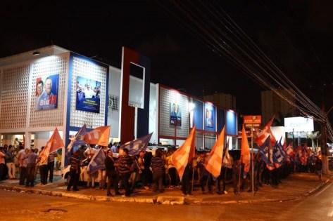 Comitê de campanha de Benedito de Lira, na Fernandes Lima