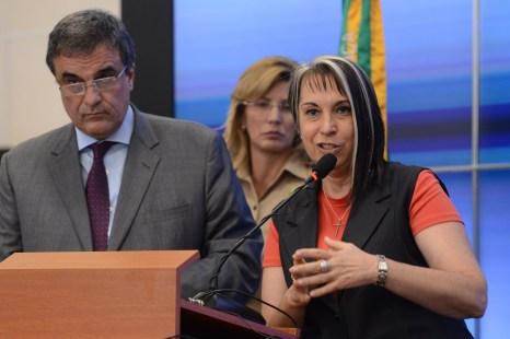Regina Miki vai apresentar plano Brasil Mais Seguro a Renan Filho