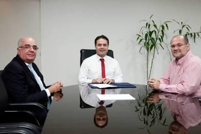 Fábio Farias, Renan Filho e Arnóbio Cavalcante