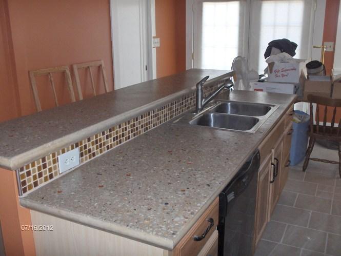Installing Diy Concrete Countertops