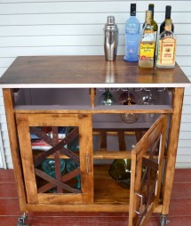 DIY Small Home Bar Ideas