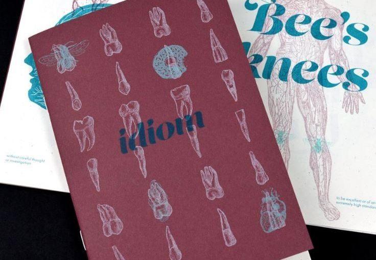 Idiom, la nuova fanzine realizzata da Risolve Studio
