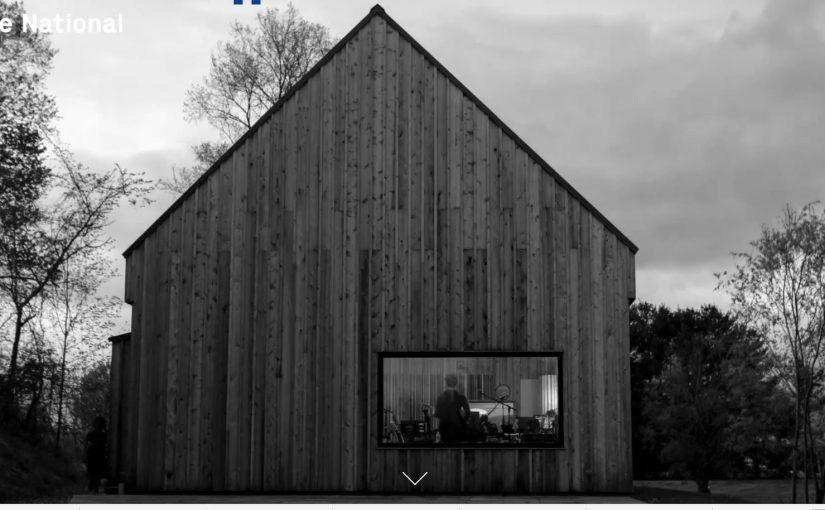 Pentagram crea il design del nuovo album dei National, ed è tutto molto bello
