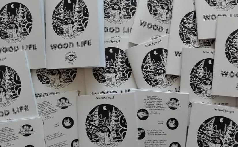 "INDEPENDENT PRESS FAIR: StenoSpiegel con il suo ""Wood life"""