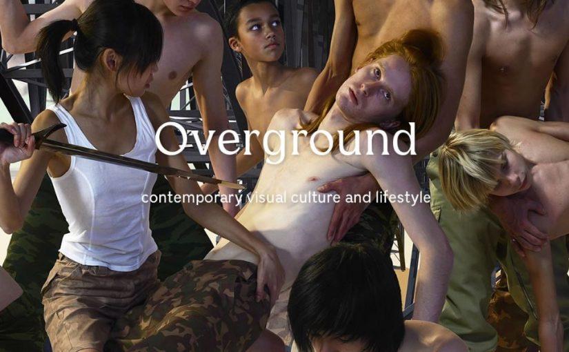 """""""Overground"""", il magazine sulla cultura visuale prodotto dallo IED di Torino"""