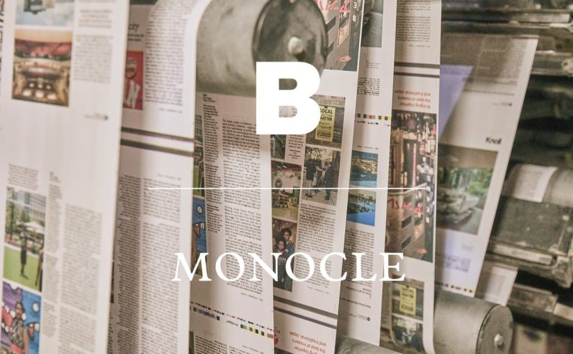 """Il nuovo numero di """"B"""" interamente dedicato al fenomeno Monocle"""