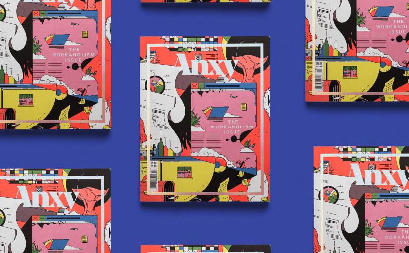 ANXY #2, il magazine questa volta esce con un numero alla dipendenza da lavoro