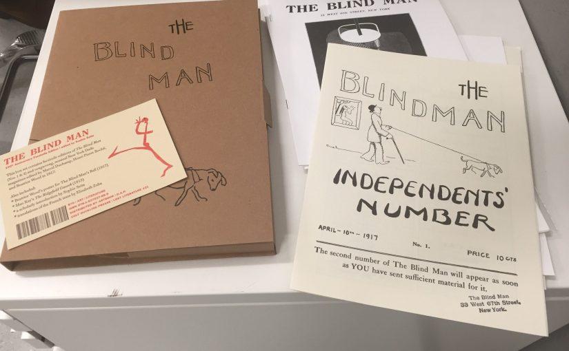 """""""The Blind Man"""" la fanzine di Marcel Duchamp che inondò di DADA gli Stati Uniti"""