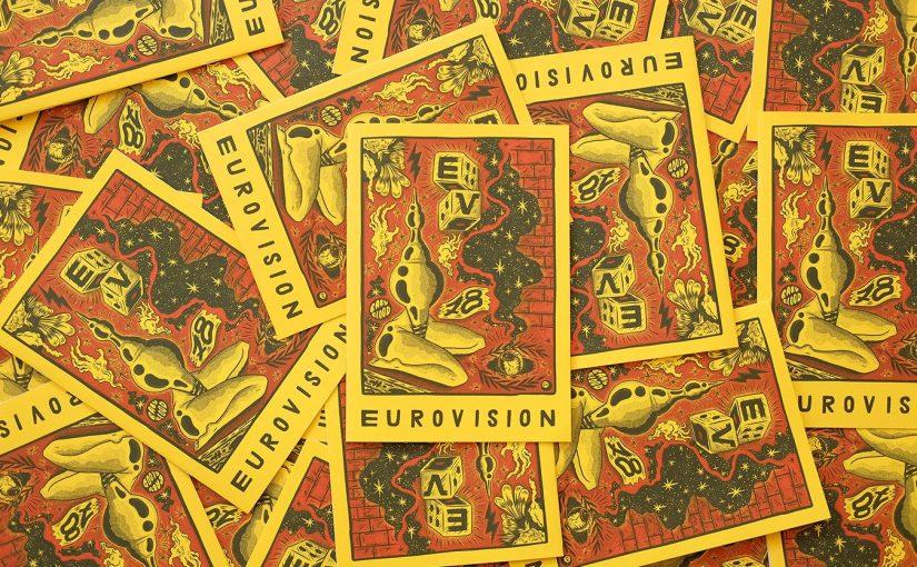 """""""Eurovision '78"""" è solo una delle mille fanzines, illustrazioni, opere  del grande Shaun Hill"""