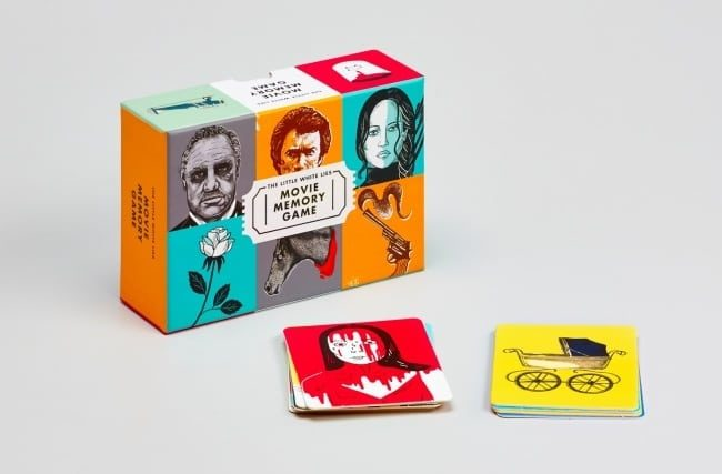 """Little White Lies"" torna e vi propone il memory game definitivo illustrato sul mondo del cinema"