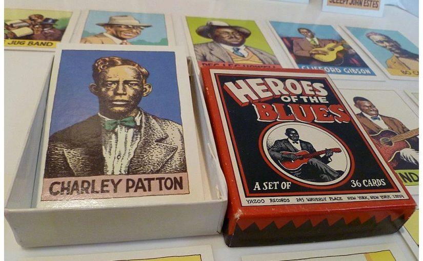Robert Crumb ha disegnato 36 carte da gioco per i 36 maestri del blues del Delta del Mississippi