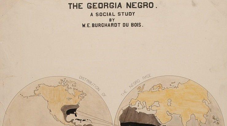 Le incredibili infografiche di W. E. Du Bois risalenti al secolo scorso sembrano di oggi