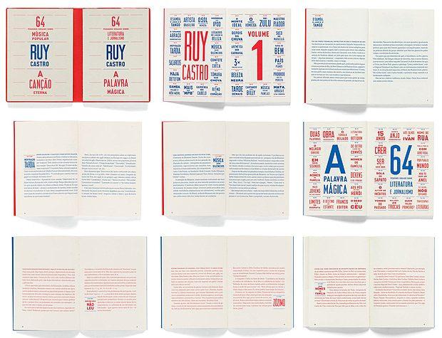Quando il design editoriale gioca con due colori e dona ad un libro un aspetto da calendario