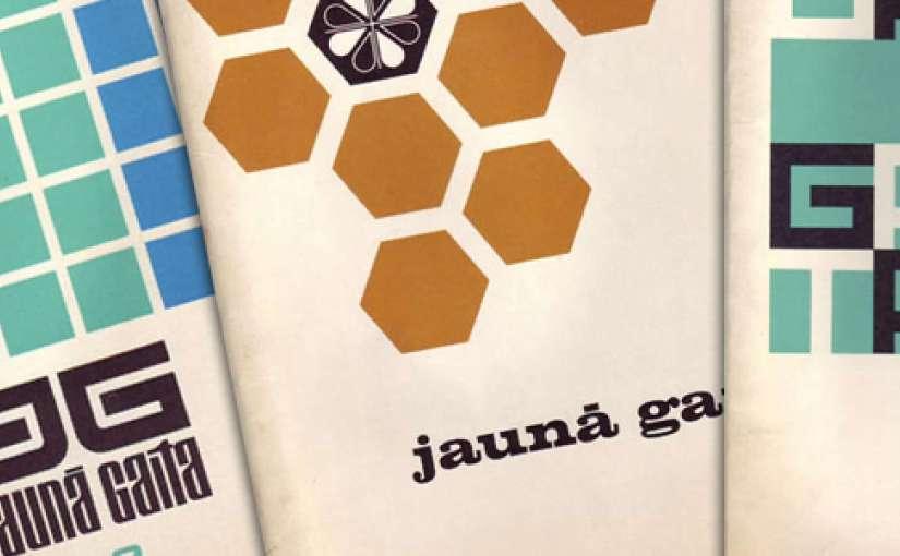 Jauna Gaita è una rivista lettone che dal 1955 crea delle copertine senza tempo