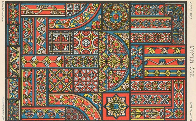 L'arte ornamentale di Auguste Racinet, piacere degli occhi