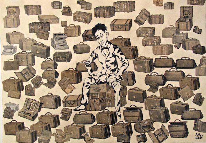 Illustrazione o collage, con Adolf Hoffmeister non si sbaglia mai