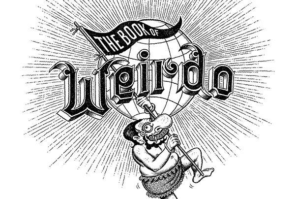 The Book of Weirdo raccoglie il meglio della rivista fondata dal grande Robert Crumb