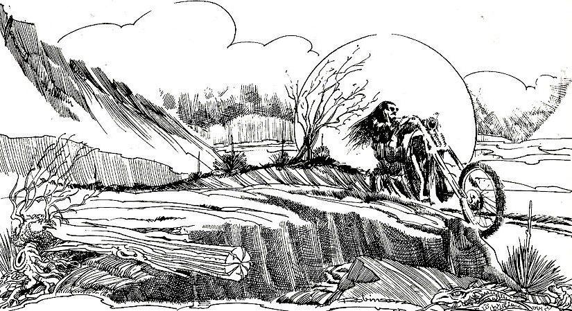 Il fumetto di Hal Robinson è davvero il fumetto del mondo dei Bikers