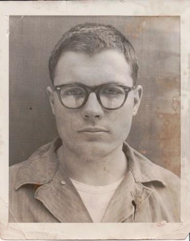 My grandfather in the Korean War
