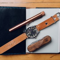 Not Stationery: One Star Leather Goods Shell Cordovan Watch Strap Review