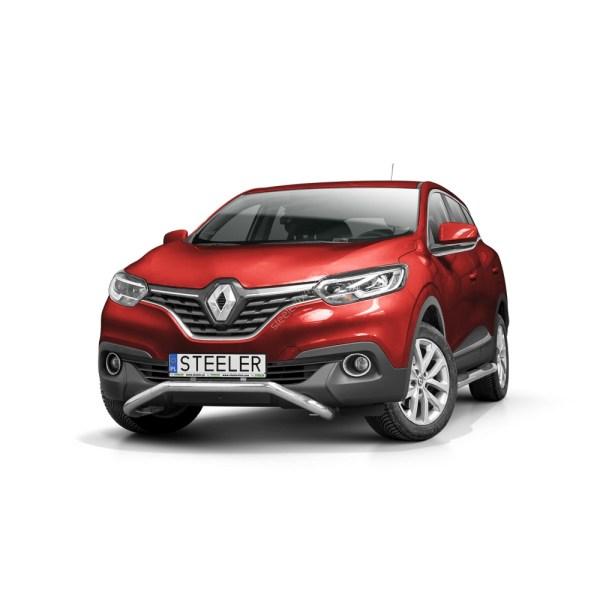Bullbar Omologat - Low 3 Renault Kadjar '16 - '18