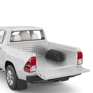 Capitonaj benă din aluminiu - Nissan Navara '16 - Prezent