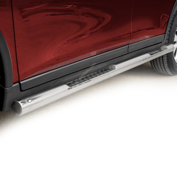 Praguri cu treaptă din Inox - Nissan X-Trail '14 - '17