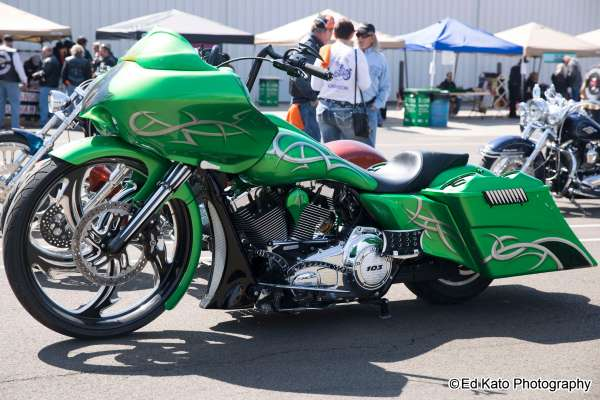 20+ Green Harley Davidson Pictures and Ideas on Weric