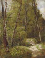 Ivan Shishkin the-path-in-the-forest-1886