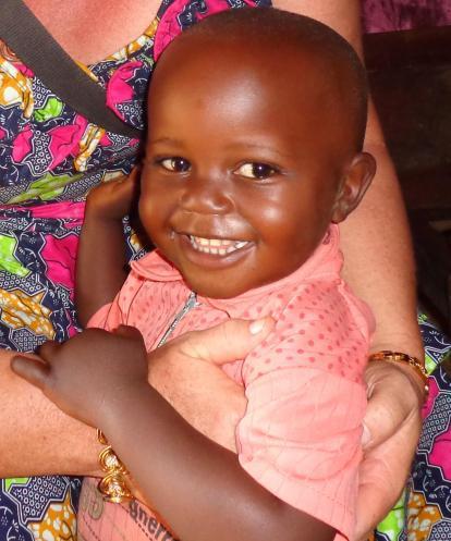 Child in CECCA/16 (photo B. Modibale)