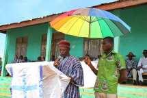 The Sisaala paramount chief's representative giving remarks
