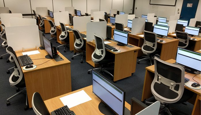 Exam hall ACEM written exam