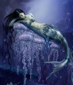 100-handicraft-Canvas-oil-font-b-painting-b-font-font-b-Mermaid-b-font-24-x36