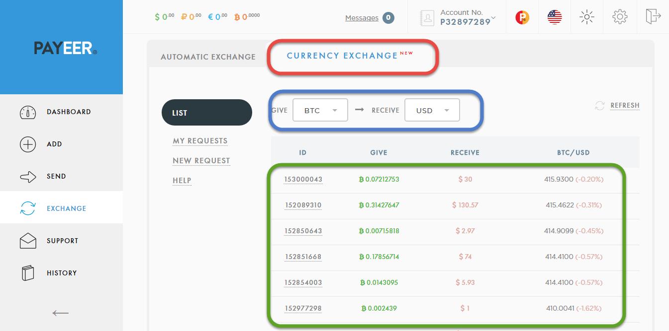 تحويل البيتكوين الى دولار