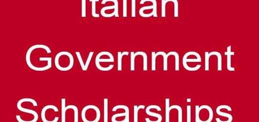 منح من الحكومة الإيطالية لجميع التخصصات كاملة المصاريف