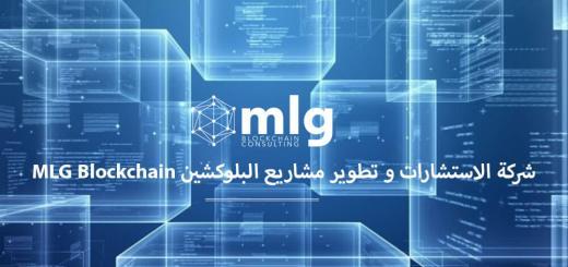 شركة الاستشارات و تطوير مشاريع البلوكشين MLG Blockchain