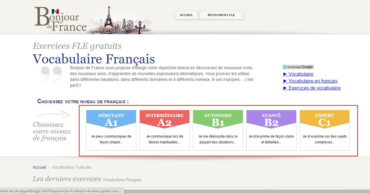 french language online free