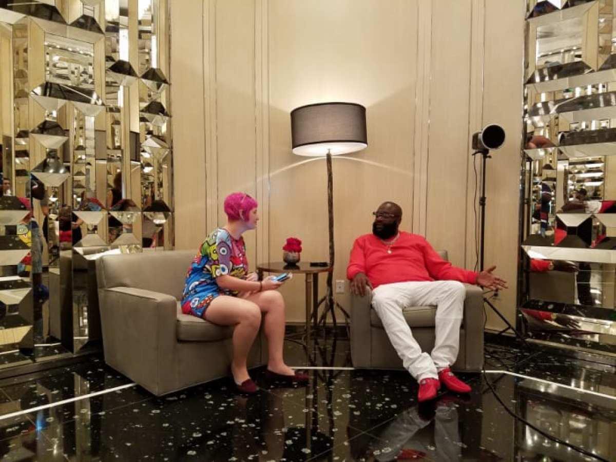 Kat Bein sits down for an interview with legendary hip-hop artist Rick Ross.