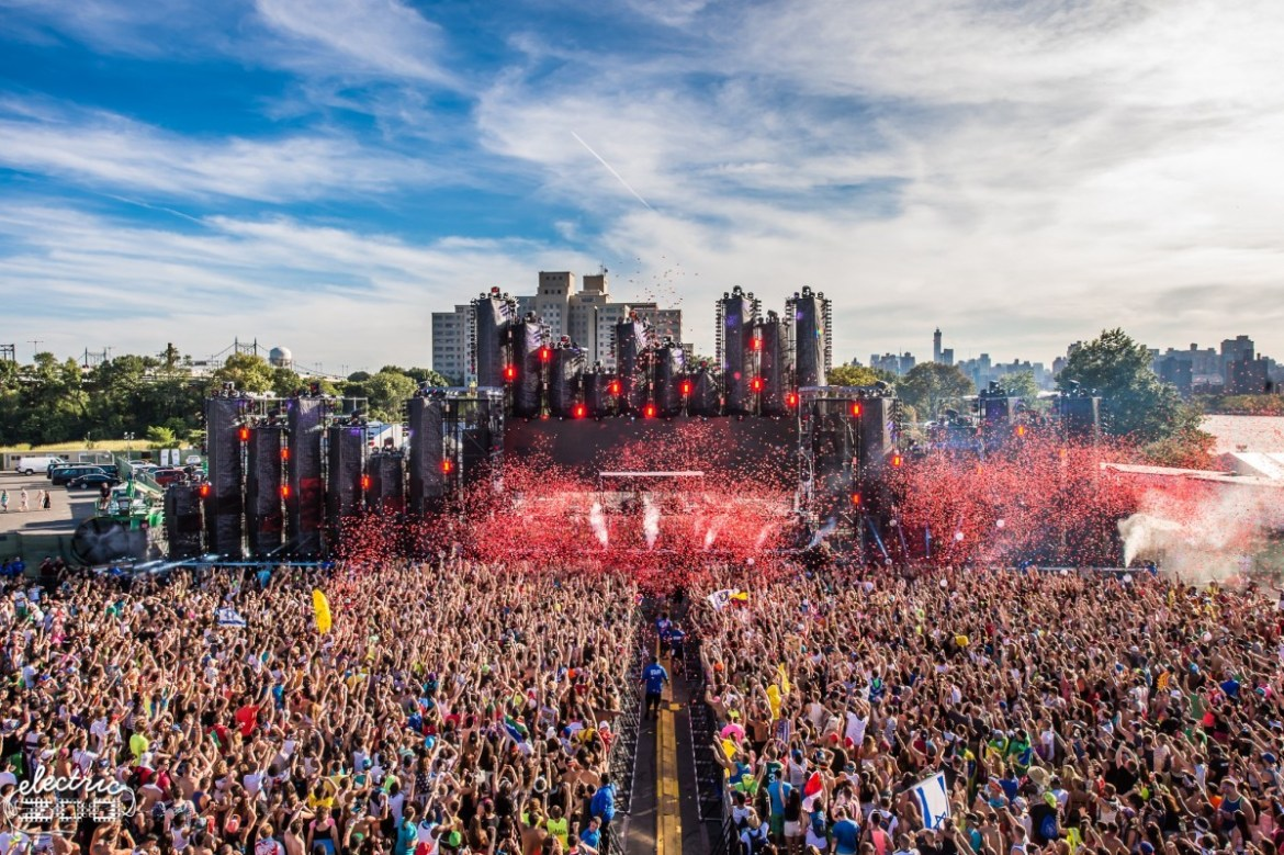 Electric Zoo Festival in NYC (2018)