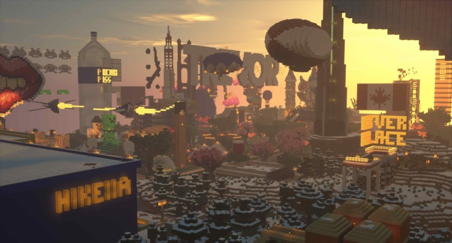 Minecraft Fire Festival