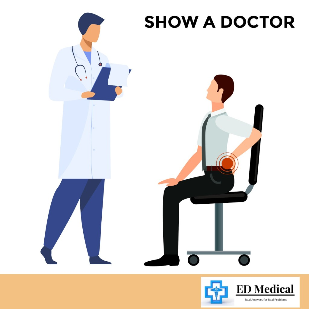 Show a doctor