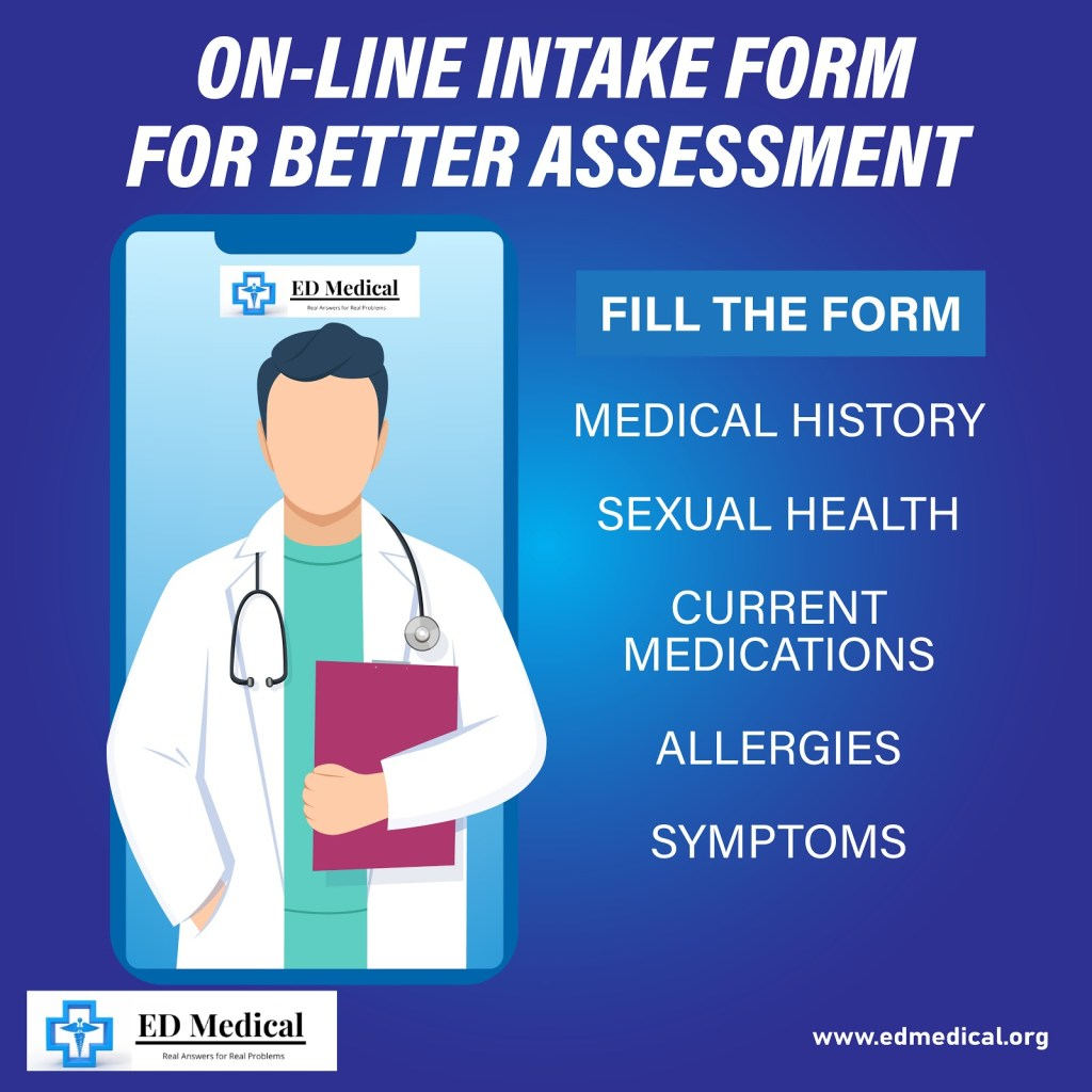 online intake form for better assessment