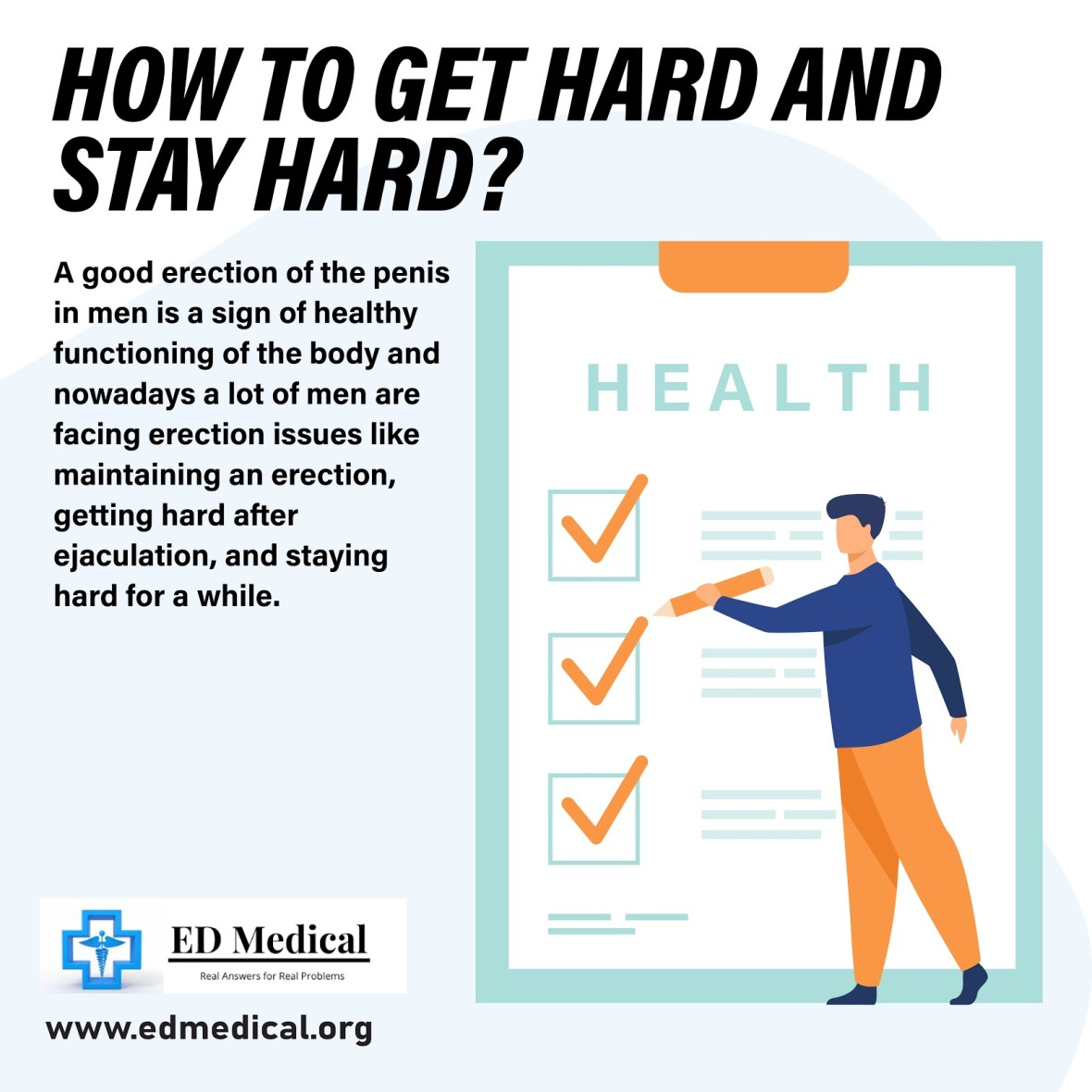 How to get hard and stay hard?